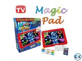 3D Magic Pad Light Up LED Drawing Tablet With 6 Pen