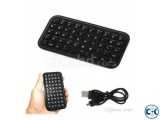 Mini Bluetooth Keyboard Rechargeable