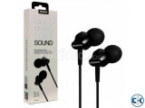 Remax Rm 501 In Ear Earphone Stereo Headset Metal Body
