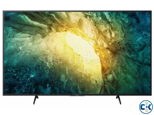 Sony Bravia X7500H 55 4K Ultra HD Android TV | ClickBD large image 0