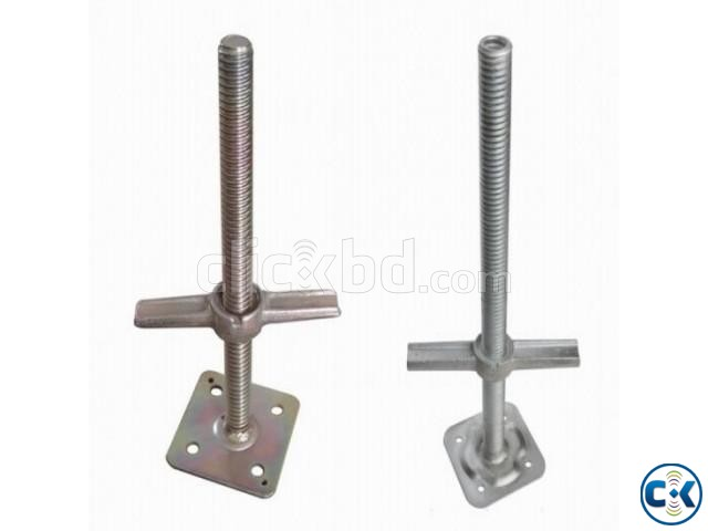 Scaffold Screw Jack base Plate adjustable  | ClickBD large image 1