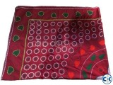 Hand Made Cotton Nakshi Katha Pink and Multi Color