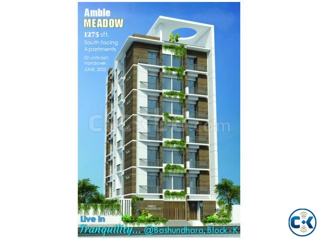 1275 sft south face on going flats for sale at Boshundhora | ClickBD large image 0