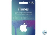 Apple iTunes 15 Gift Card