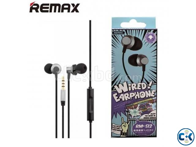 Remax Rm 512 High Performance Wired In Ear Earphone Stereo w | ClickBD large image 0