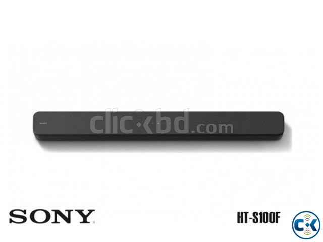 SONY 2ch Single Soundbar with Bluetooth Technology HT-S100F | ClickBD large image 3