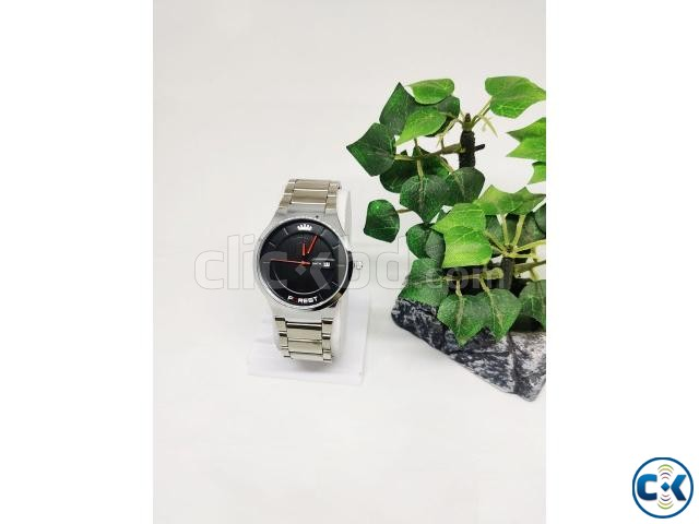 Forest Water Resistant Watch For Men | ClickBD large image 2