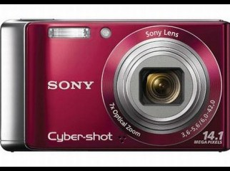 Sony CyberShot W370 14 Megapixels Digital Camera