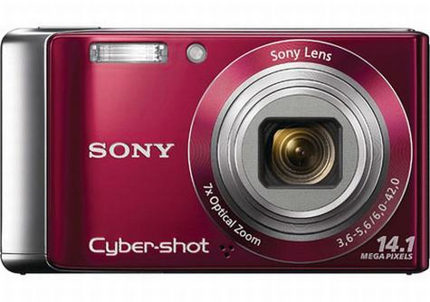 Sony CyberShot W370 14 Megapixels Digital Camera | ClickBD large image 0