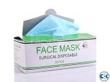 Surgical Disposable Protective Face Masks- 3-Ply 50 pcs box