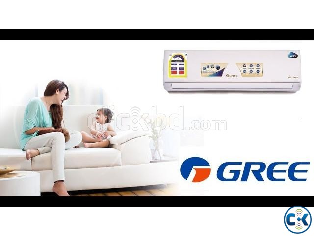 1.0 Ton GREE Hi-Speed GS-18CT 12000 BTU Wall Mount Split AC | ClickBD large image 0