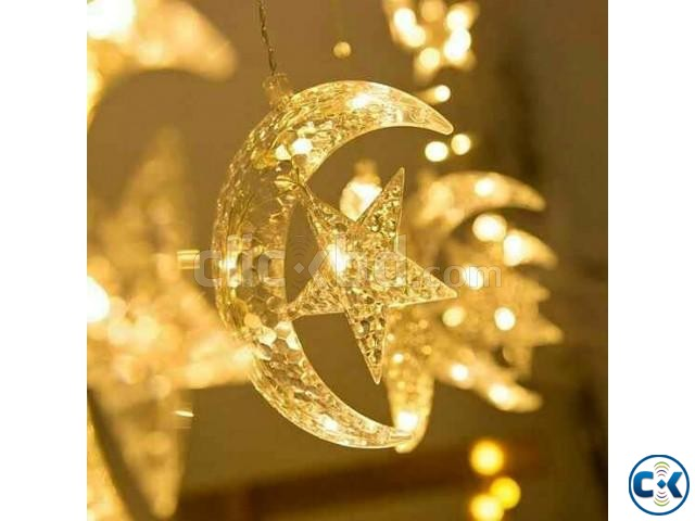 Moon star fairy light | ClickBD large image 0