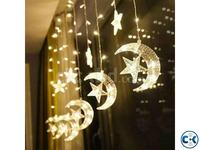 Moon star fairy light | ClickBD large image 2