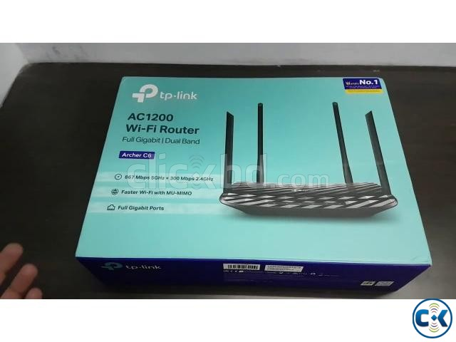 TP-Link Archer C6 AC1200 Wireless MU-MIMO Gigabit Router US | ClickBD large image 4