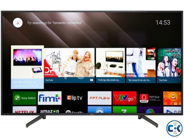 SONY X8000H 65X8000H VOICE CONTROL ANDROID 4K SMART TV | ClickBD large image 3
