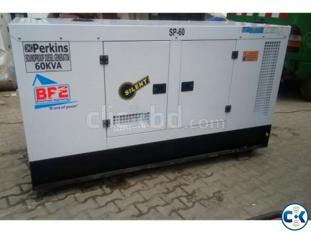 Perkins 60 KVA Generator- Made In Uk - soundproof | ClickBD large image 0