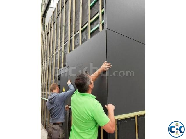 Aluminium composite panel ACP Fittings labour | ClickBD large image 0