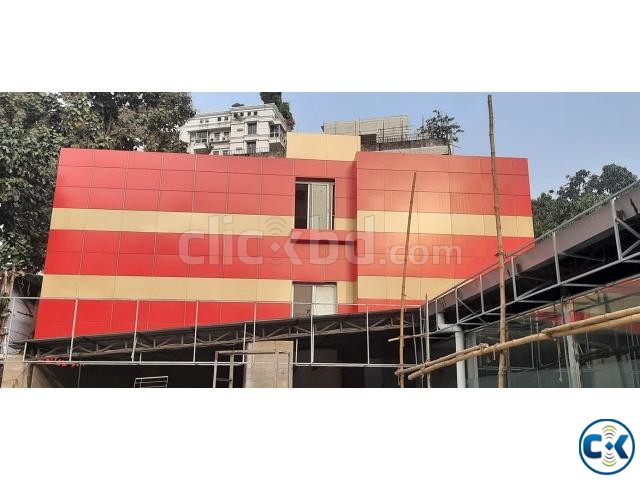 Aluminium composite panel ACP Fittings labour | ClickBD large image 4
