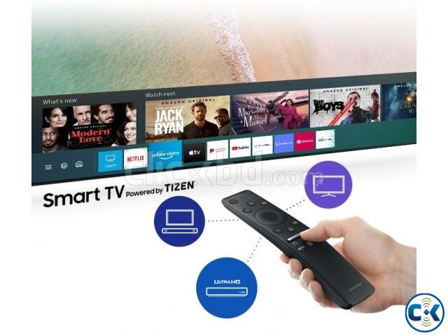 43 inch SAMSUNG TU8000 CRYSTAL UHD 4K VOICE CONTROL TV | ClickBD large image 2