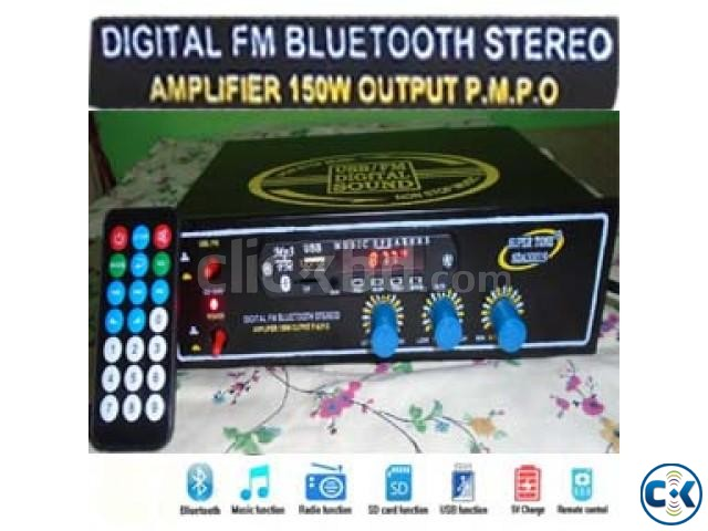 BLUETOOTH STEREO AMPLIFIER 150Watts | ClickBD large image 0