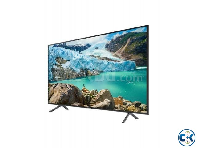 Samsung RU7100 Series 7 43 Flat 4K UHD Smart Android TV | ClickBD large image 1