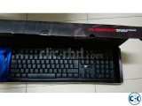 Wireless Gaming Keyboard With Logitech Headphones