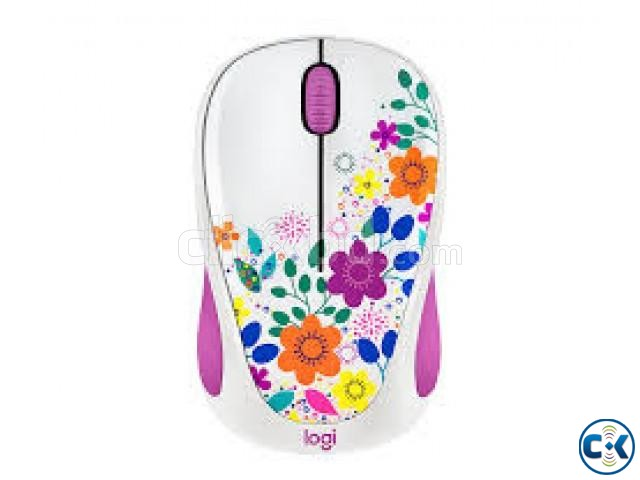 Logitec Design Collection wireless Mouse | ClickBD large image 0