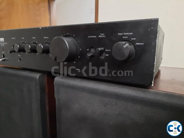 Technics 10 speaker and Sansui Stereo AMP 01765488635  | ClickBD large image 1
