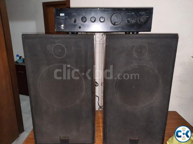 Technics 10 speaker and Sansui Stereo AMP 01765488635  | ClickBD large image 2