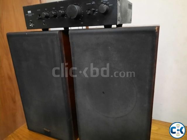 Technics 10 speaker and Sansui Stereo AMP 01765488635  | ClickBD large image 3