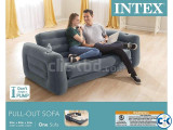 Intex Inflatable Pull-Out Sofa cum Bed with Pumper