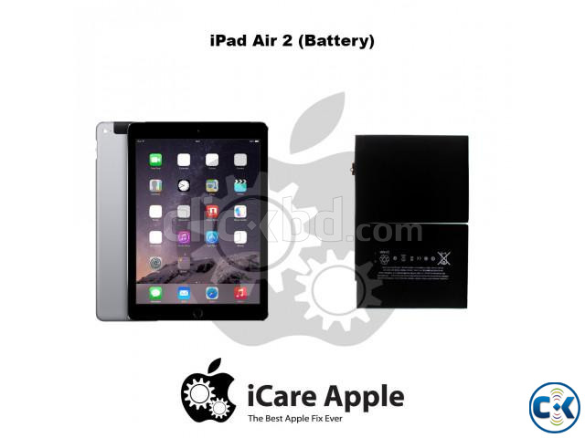 iPad Air 2 Battery Replacement Service Center Dhaka. | ClickBD large image 0