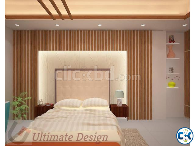 Interior Home Design Complete Project Done  | ClickBD large image 1