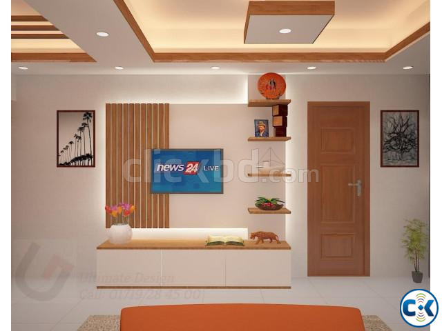 Interior Home Design Complete Project Done  | ClickBD large image 3