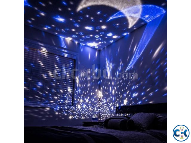 Sky LED Night Light Projector | ClickBD large image 0
