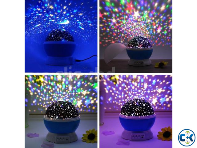 Sky LED Night Light Projector | ClickBD large image 1
