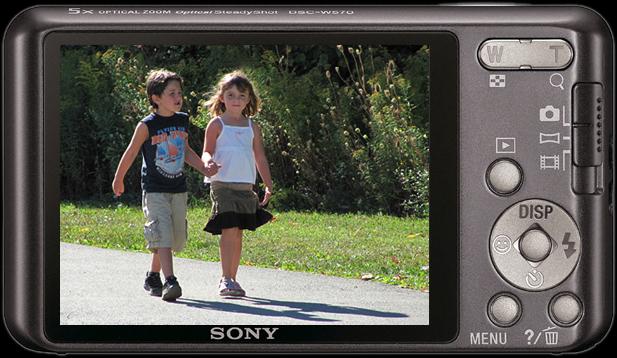 Sony Cyber-shot DSC-W570 16.1 MP Digital Camera | ClickBD large image 0