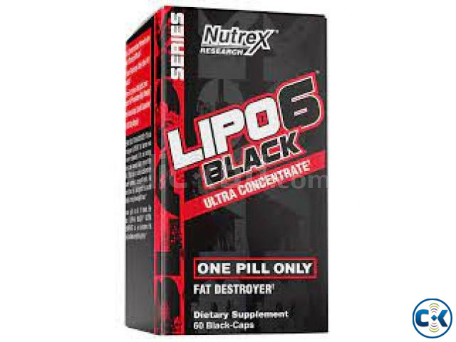 Lipo-6 Black Ultra Concentrate-60 Caps in Bangladesh | ClickBD large image 0
