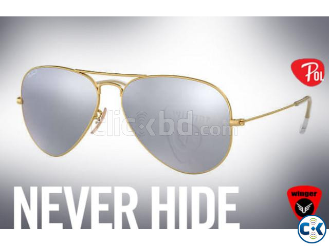 Ray-Ban Polarized Aviator J | ClickBD large image 1