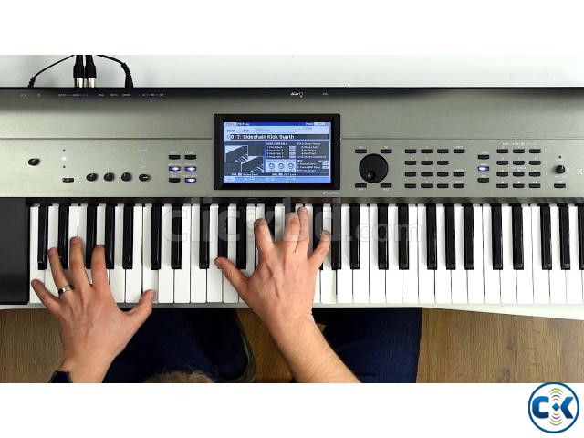 Brand New Intact KORG Krome-EX Touchscreen Workstation | ClickBD large image 0