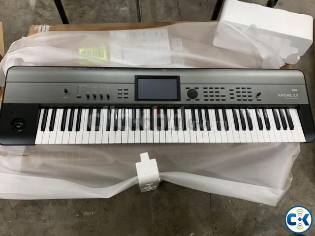 Brand New Intact KORG Krome-EX Touchscreen Workstation | ClickBD large image 2