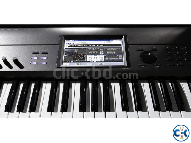 Brand New Intact KORG Krome-EX Touchscreen Workstation | ClickBD large image 4