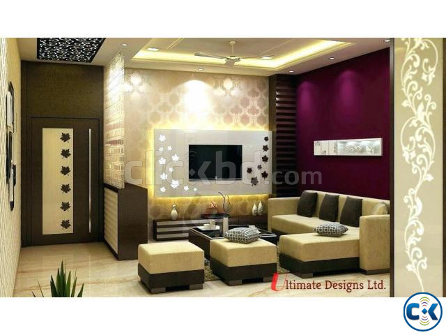 Modern Home Interior Complete Project  | ClickBD large image 3