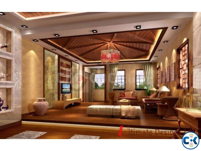Modern Home Interior Complete Project  | ClickBD large image 4