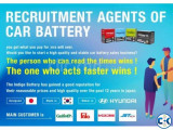 Recruit The Overseas Agency Fo The Japanese Car battery Comp