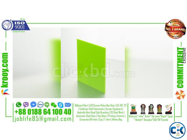 2mm plastic sheet 10mm acrylic sheet perspex panels | ClickBD large image 2