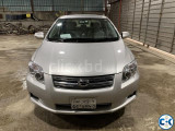 Toyota Axio G Edition Push Start 2008 Silver