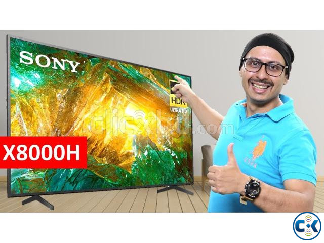 55 Inch Sony X8000H 4K UHD HDR Smart Android LED TV | ClickBD large image 2