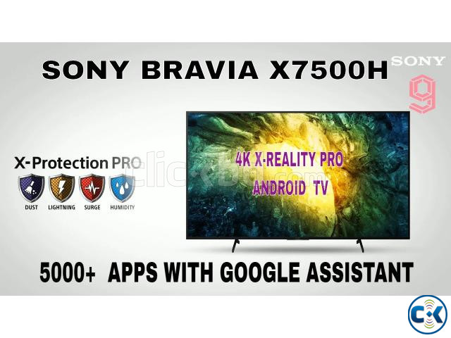 Sony Bravia 65X7500H 65 4K HDR Android LED TV | ClickBD large image 0