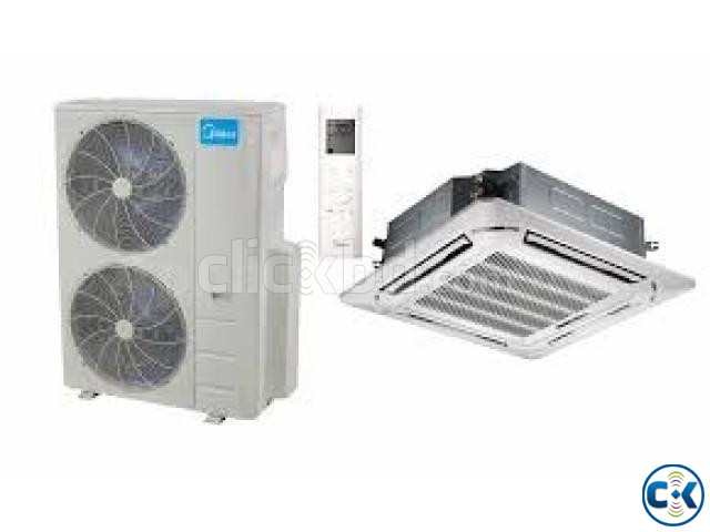 Midea 3 Ton Ceiling Cassette Air Conditioner MUB-36CR | ClickBD large image 1